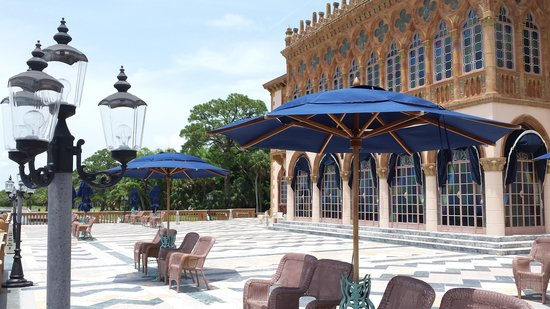 The Ringling: House Patio on the Gulf