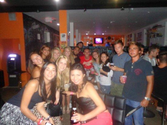 SoBe Hostel: Antes de que nos pase a buscar el Party Bus