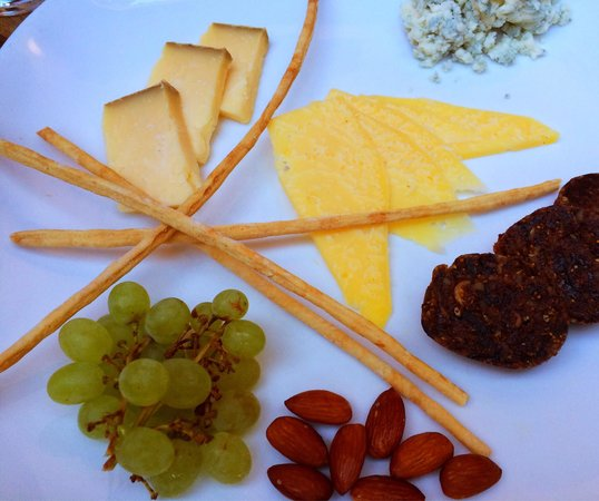 Seasons of Durango : Selection of cheese...