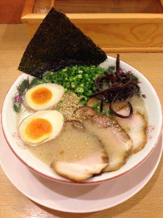 Hakata Nagahama Ramen Shoryu Odawarajoka ramenshukubamachi