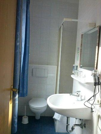 Hotel Jagerhof: Badezimmer