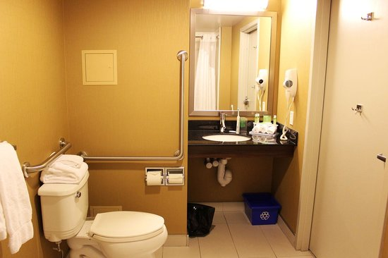 Holiday Inn Express Pembroke: The bathroom