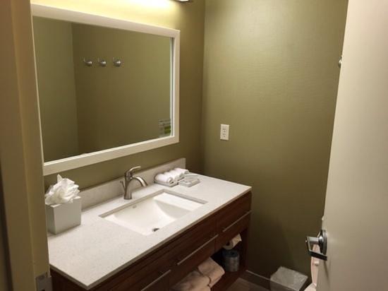 Home2 Suites By Hilton San Antonio Airport Room 429 Bathroom Vanity