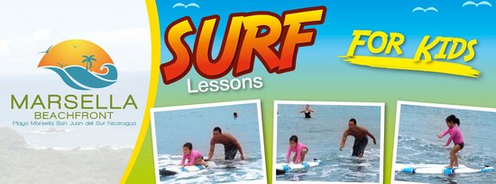 Playa Marsella Beach Front Hotel: Surf Lessons for Kids