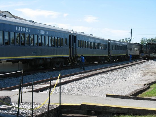 Bluegrass Scenic Railroad and Museum: Passenger Train