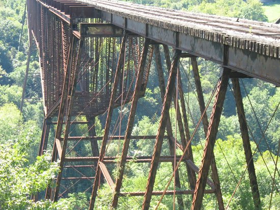 Bluegrass Scenic Railroad and Museum: Bridge