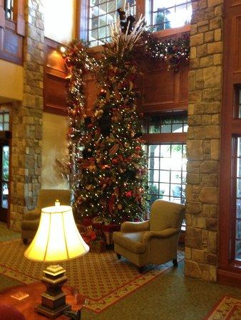The Inn at Christmas Place: Main Lobby 02