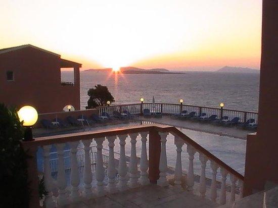 Romanza Hotel: the sunsets