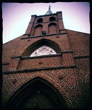 Clairmarais, ฝรั่งเศส: Eglise St Bernard, la rosa restaurée