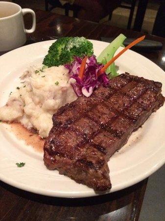 Savoury's : New York steak