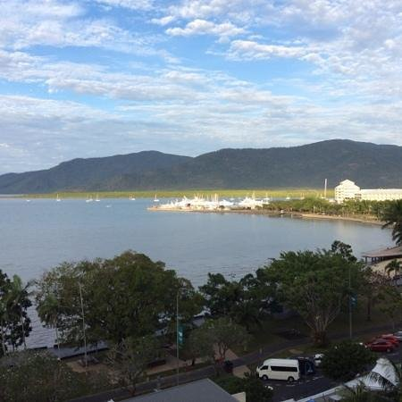 Cairns Aquarius: view from our apartment