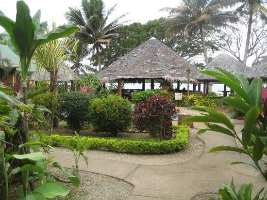 Poppy's on the Lagoon: Restaurant area