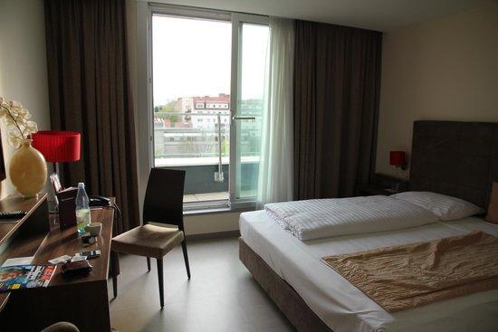 Mercure Graz City: Square facing double room - room