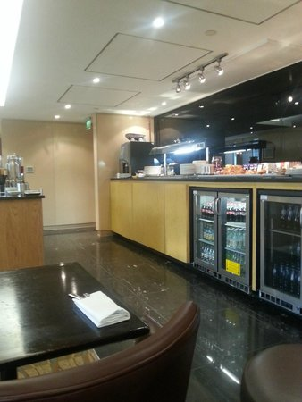 Crawley, UK: Executive lounge
