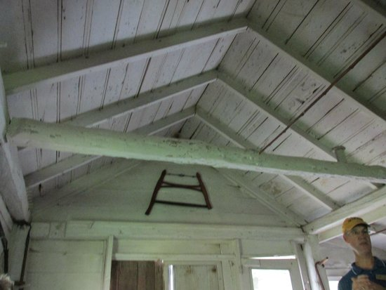 Aldo Leopold Foundation: Roof interior of The Shack