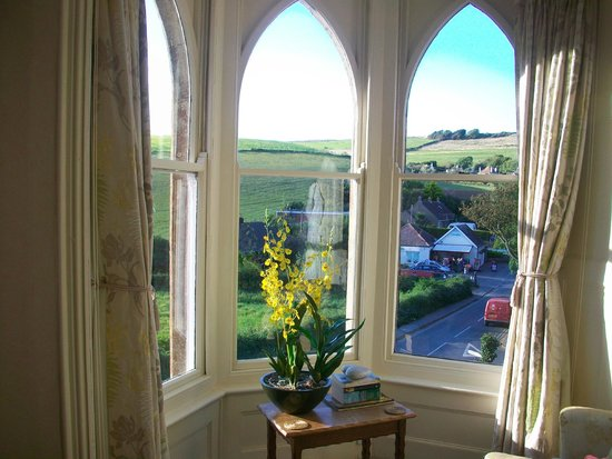 Bindon Bottom B&B: View from Hardy room