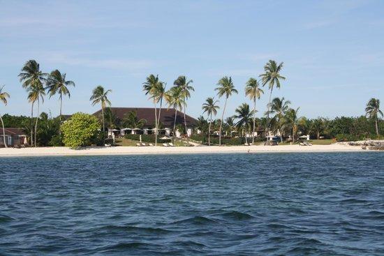 Kizimkazi, Tanzania: L'hôtel vu de la mer