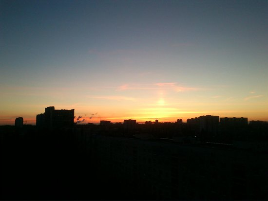 Slavutych Hotel: Рассвет