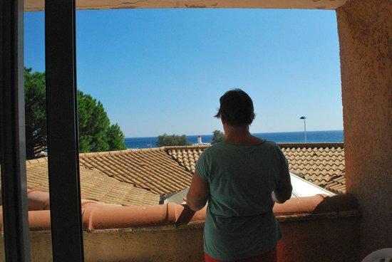 Best Western Hotel Paradou Mediterranee: SEAVIEW!