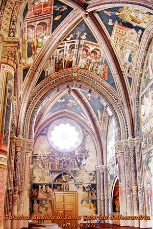 Galatina, Itália: affreschi volta