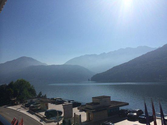 Swiss Diamond Hotel Lugano: Прекрасные виды из номеров
