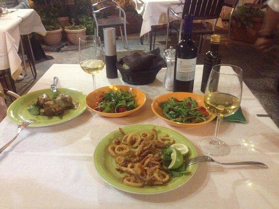 Caupona Taverna di Sicilia: Dinner