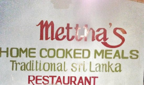 Mettha's Home Cooked Meals Traditional Sri Lanka Restaurant