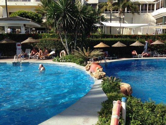 THB Torrequebrada Hotel: les piscines