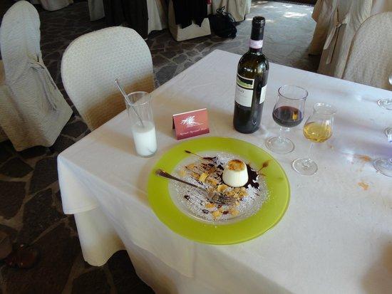 Fauno del Bosco : One of the yummy desserts!