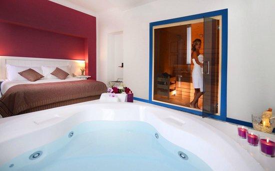 Wellness suite con vasca idromassaggio & sauna   foto di cala ...