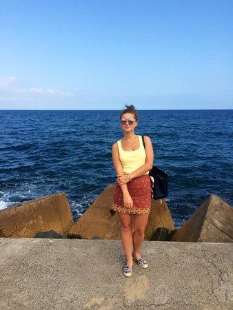 Pullman Barcelona Skipper: beach near hotel