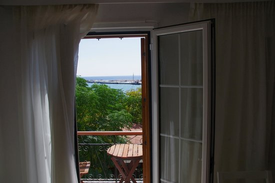 Kerkis Bay Hotel: View from the sitting room