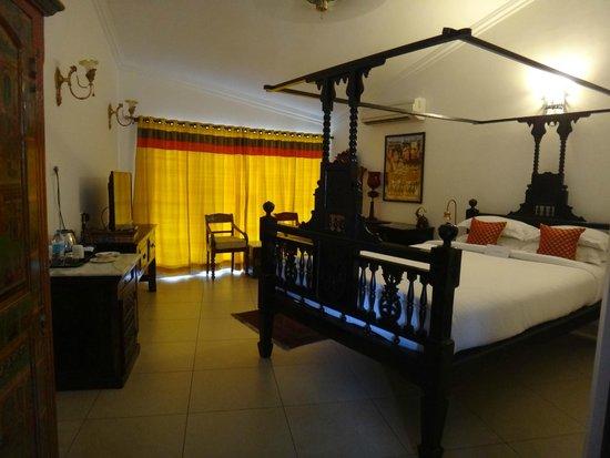 Saligao, Hindistan: My room