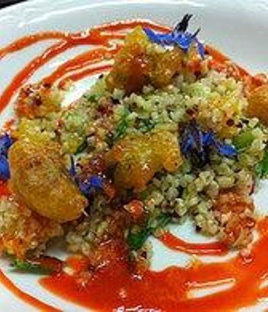 Les 3 Piliers: Salade de Quinoa et Tempura