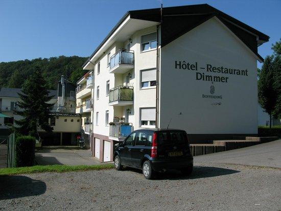 Dimmer Hotel : achterzijde