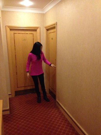 Troy Hotel : Corridoio stanze