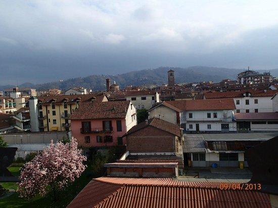Albergo d'Italia: вид с балкона, последний этаж