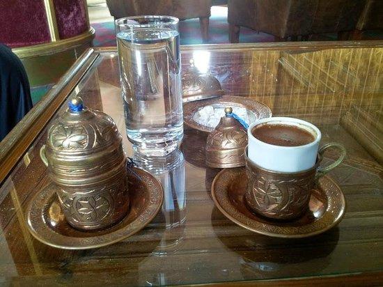 Best Western Antea Palace Hotel & Spa: Welcome coffee at Best Western Antea