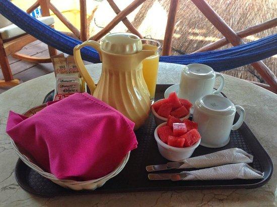 Hotel La Joya: Breakfast