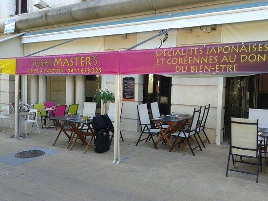 Sushi Master's : La façade du restaurant