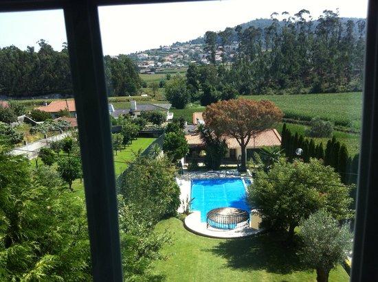 Villa d'Arcos: Pool area