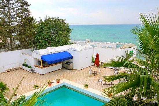 Hotel Dar Hayet: Вид на внутренний двор