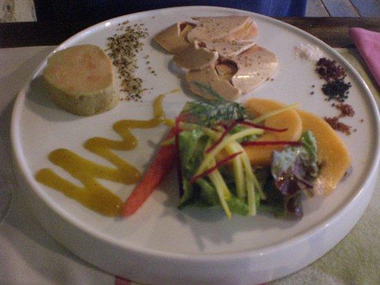 Cabanoix et Chataigne: Twee soorten foie gras als voorgerecht