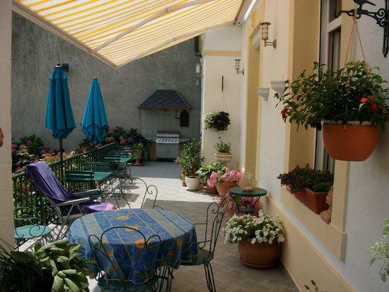 La Villa Quo Incidence: terrasse coté jardin
