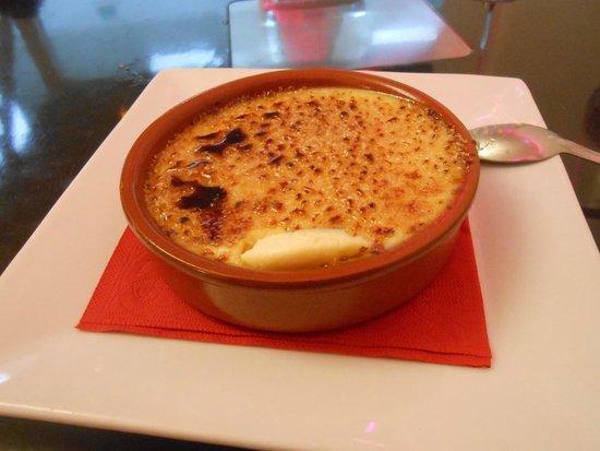 Le Kube Restaurant : Crème brûlée à la vanille véritable - Kube 20.09.2014
