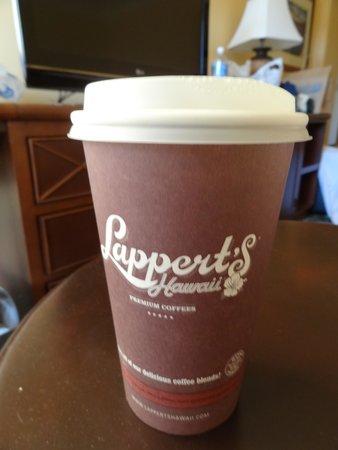 Lappert's Ice Cream: コーヒーもおいしい