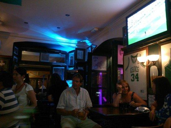 The Gaffe Pub: Saturday night