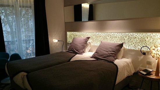 Hotel Chavanel : ツインルーム