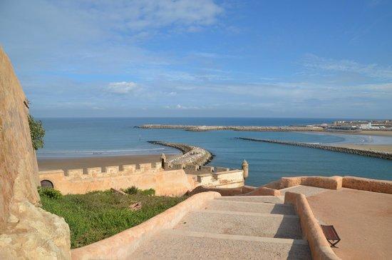 Kasbah des Oudaias: Vue sur la baie