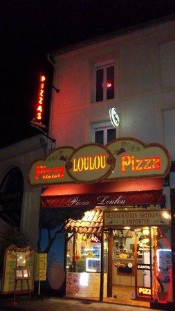 pizza loulou depuis 1995 à la bourboule